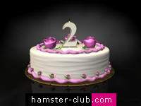 Celebrating Hamster-Club's 2nd birthday!