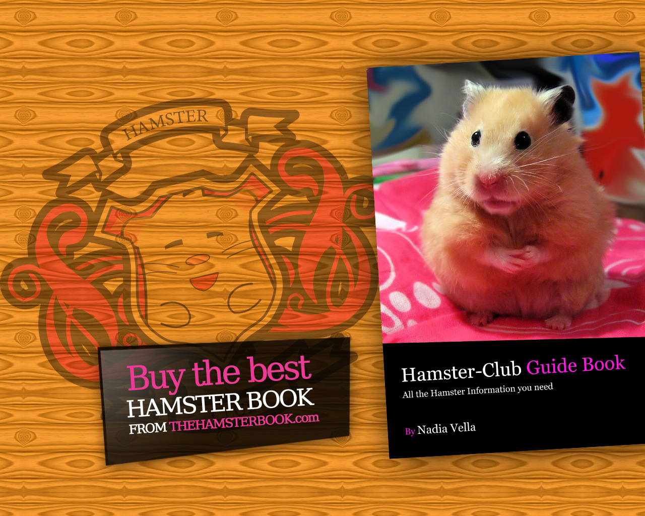 The Hamster Book Wallpaper